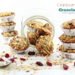 Cranberry Maple Granola Cups