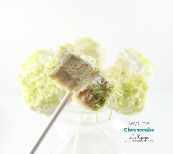 Vegan key lime pie cheesecake lollipops1