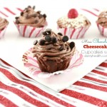 Mini Chocolate Cheesecake Cupcakes