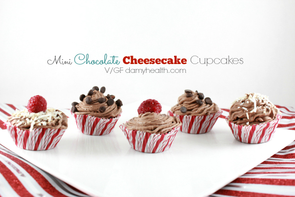 mini vegan chocolate cheesecake cupcakes1