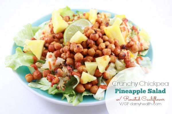 Crispy Crunchy Sriracha Chickpea Salad1