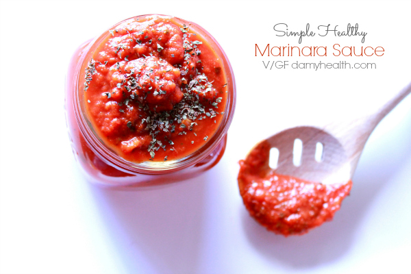 Simple Healthy Marinara Sauce