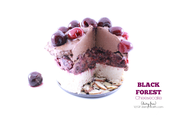 Black Forest Cheesecake (dairy free)