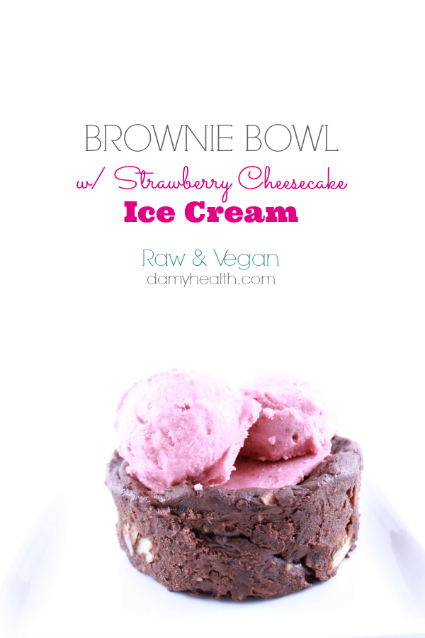 Vegan Brownie bowl Ice Cream Bowls1