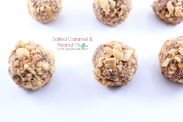 Caramel and Peanut Truffles
