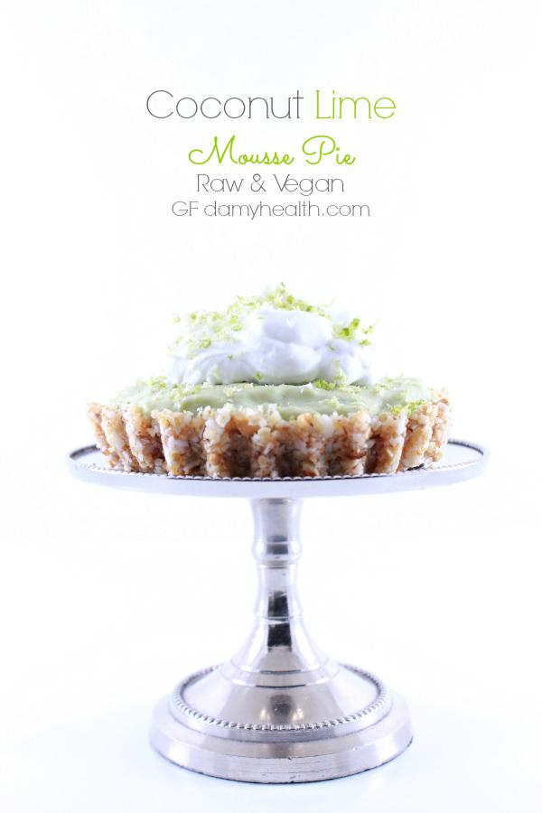 Coconut Lime Mousse Pie