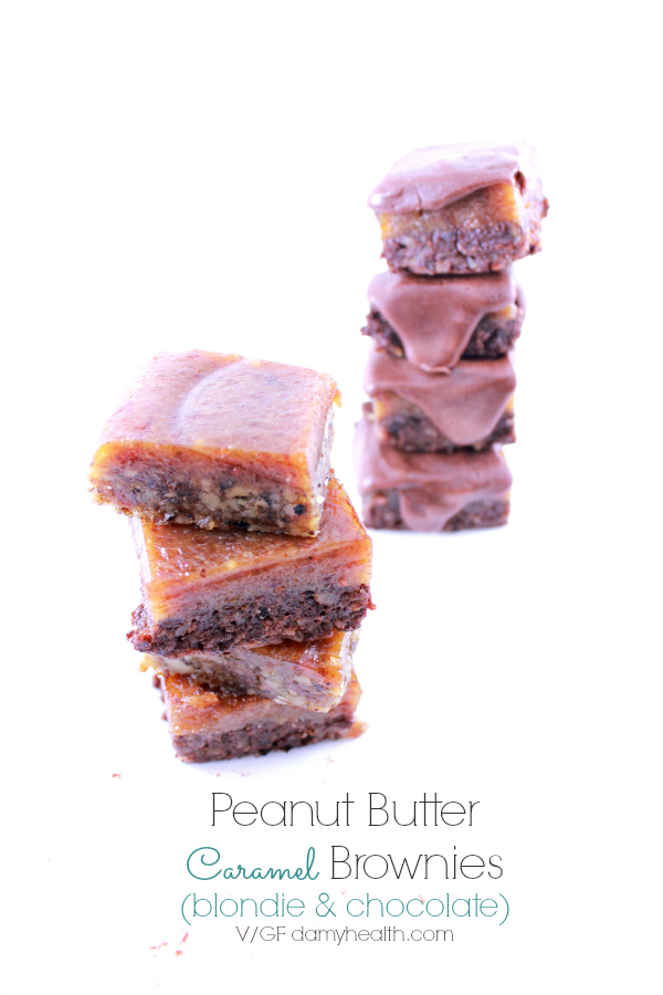 Peanut Butter Caramel Brownies