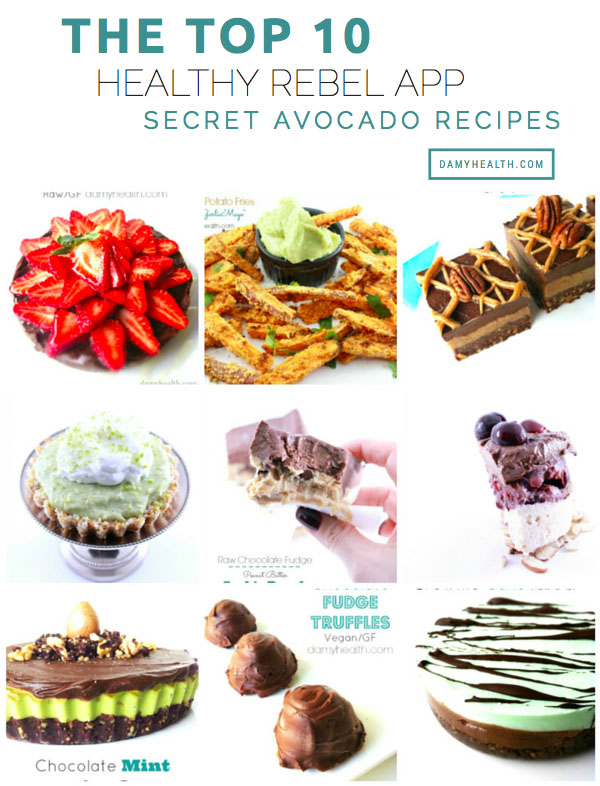 healthy rebel avocado recipes