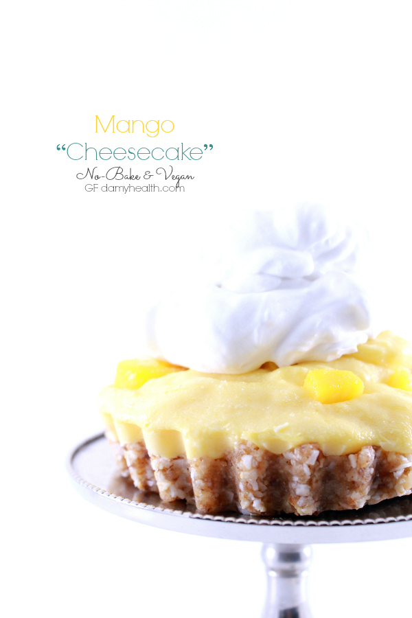 "Mango ""Cheesecake"" – No-Bake & Vegan"