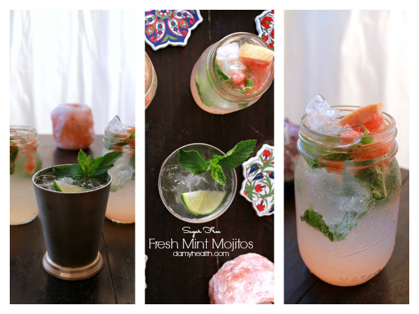 Fresh Mint & Lime Mojitos