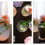 Sparkling Grapefruit & Basil Cocktail (All Natural & No Added Sugar)