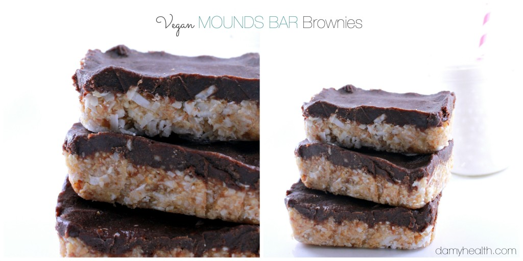 Vegan MOUNDS BAR  Brownies