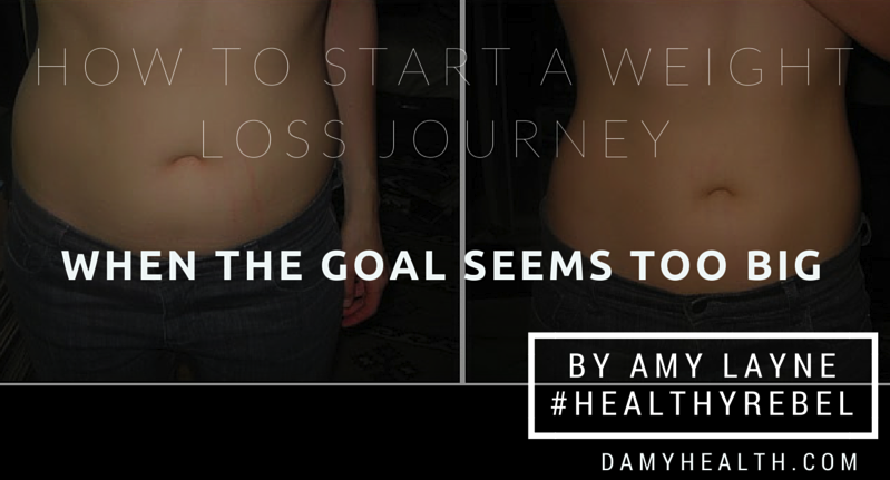 How to Start a Weight Loss Journey When the Goal Seems Too Big