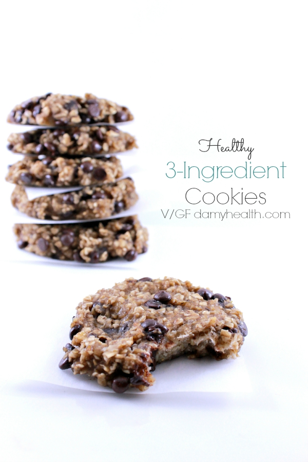 Healthy 3-Ingredient Cookies