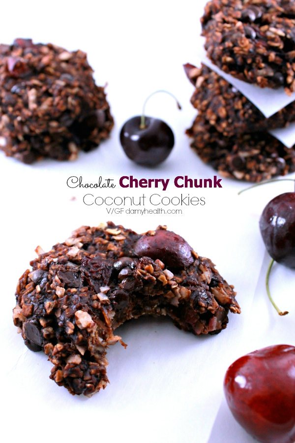 Cherry Chocolate Chunk Cookies Recipe — Dishmaps