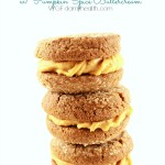 Vegan Ginger Snap Cookies with Pumpkin Spice Buttercream