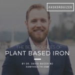 The Best Sources of Plant Based Iron
