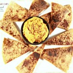 Cinnamon Sugar Chips with Salted Caramel Pumpkin Pie Dip