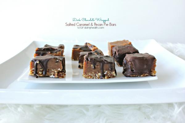 paleo Salted Caramel Pecan Pie bites