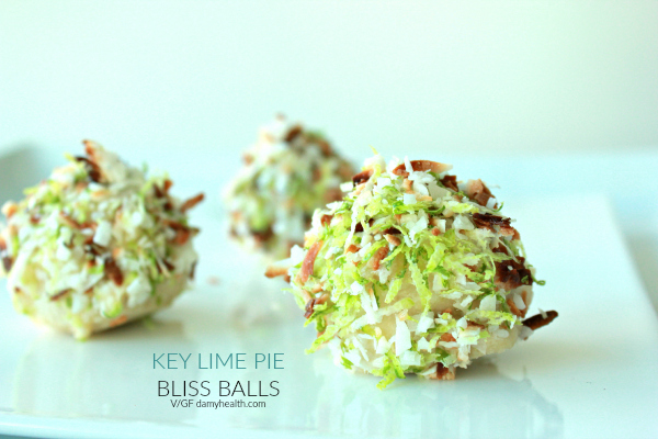 Key Lime Pie Bliss Balls