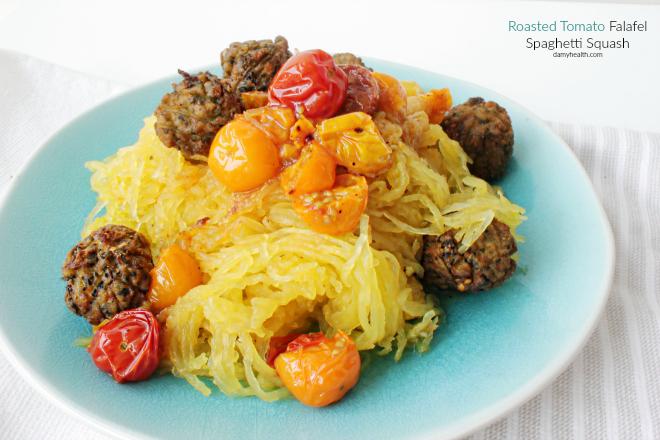 Spaghetti Squash Falafel