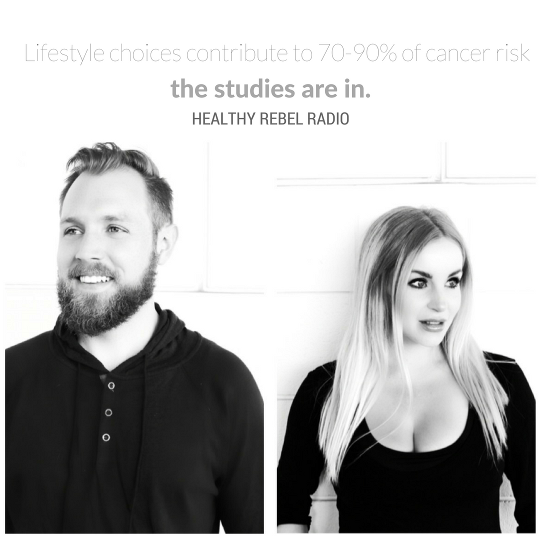 Epi 122: Lifestyle choices contribute to 70-90% of cancer risk – The studies are in.