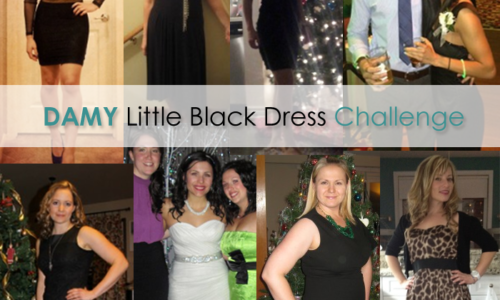 DAMY Little Black Dress Challenge Winners