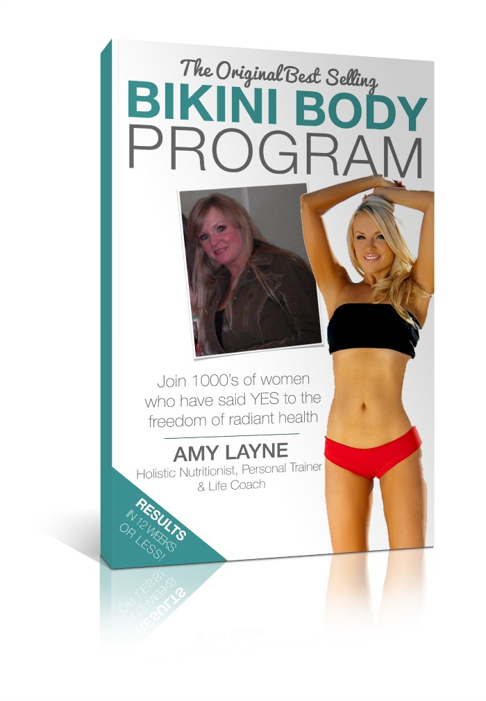 Bikini Body Cover Book Large Reduced Size