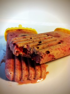 Strawberry Cheesecake Protein Pops
