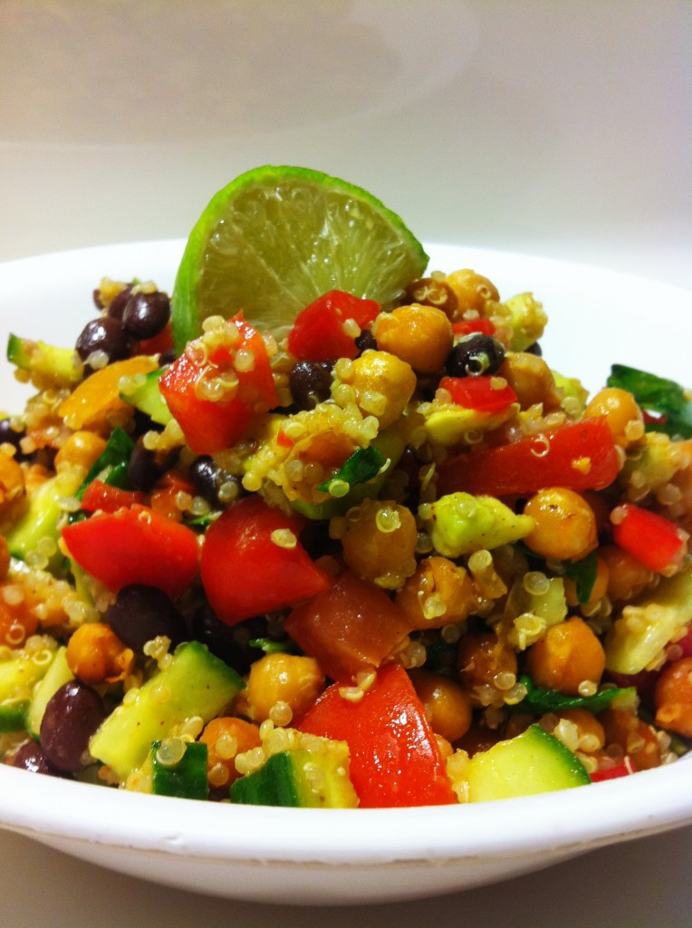 Amy Laynes Vegan Mexi Salad