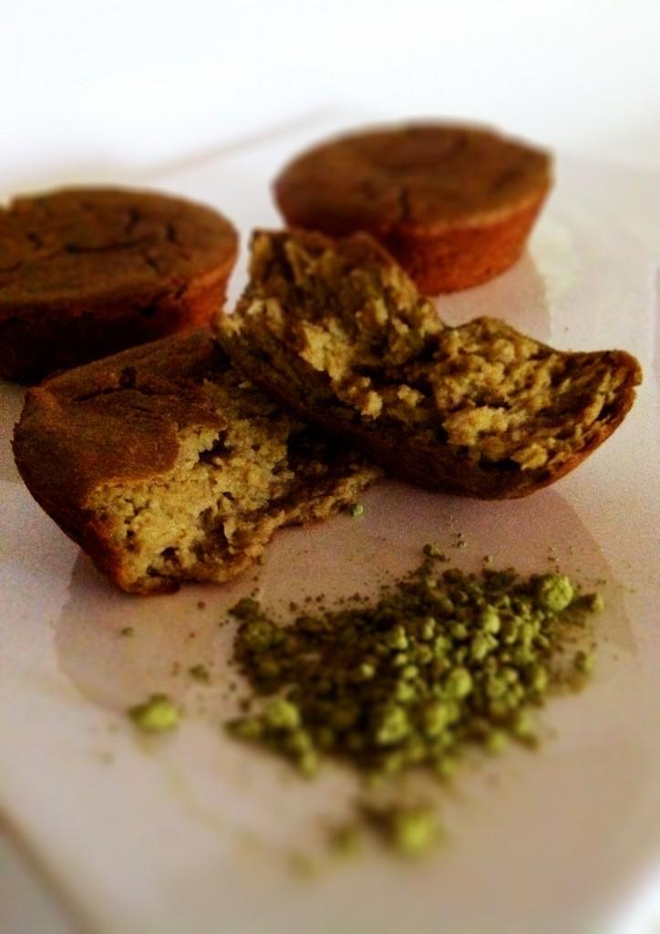Amy Laynes Matcha Protein Muffins