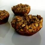 Healthy Banana Walnut Crunch Muffins