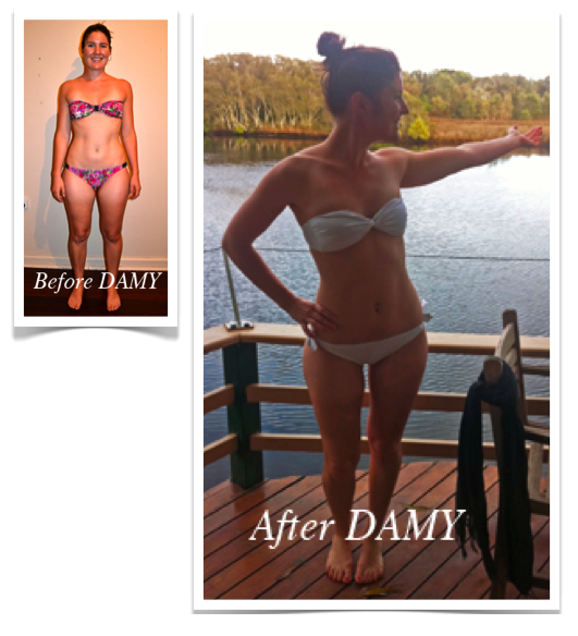 Ruth DAMY Method Weight Loss Transformation