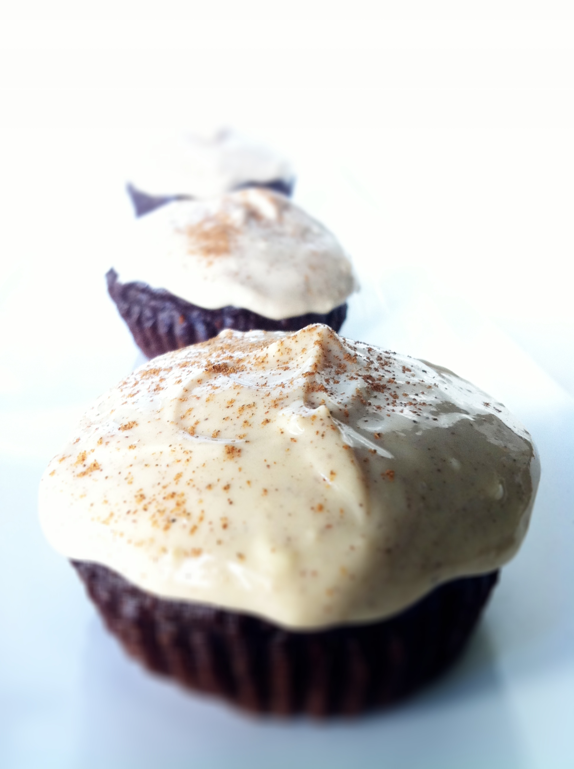 Healthy Dark Chocolate Cupcakes