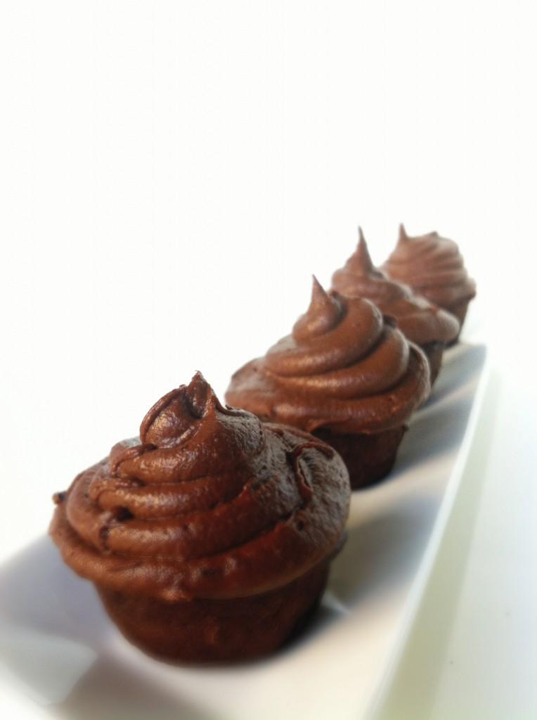 Blackbean cupcakes