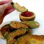 Avocado Fries and a Skinny Sweet-with-Heat Chipotle Dipping Sauce