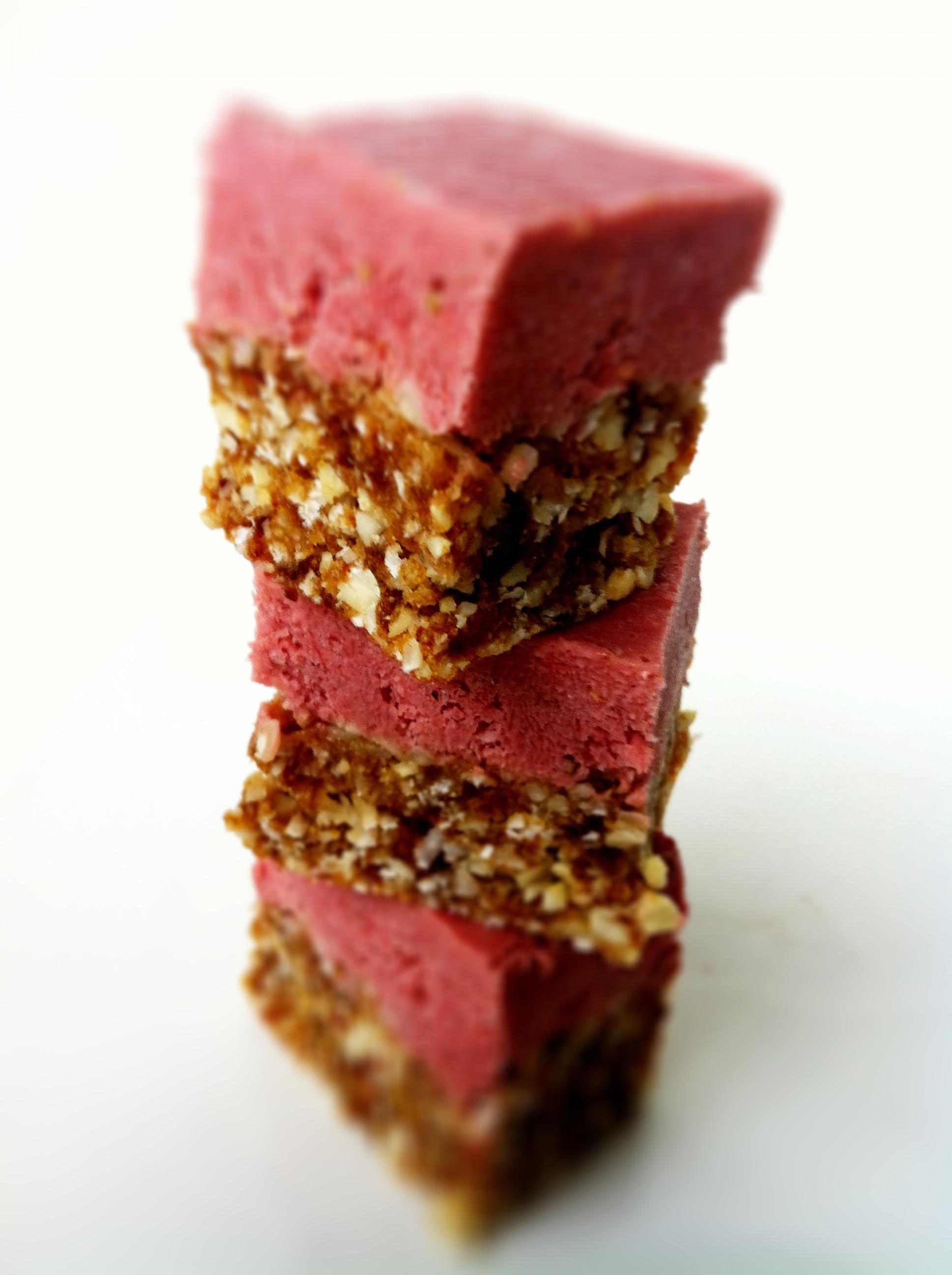 Healthy Strawberry Cheesecake Bites Vegan Gluten Free