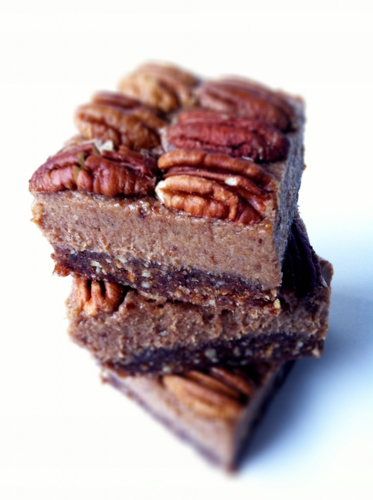 No-bake natural pecan pie