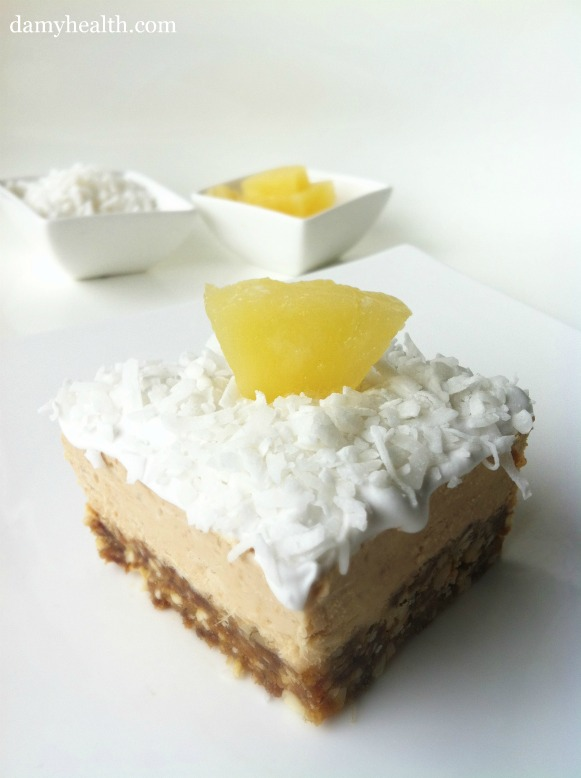 pina colada cheese cake
