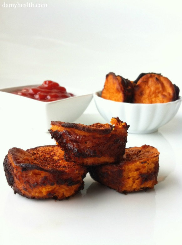 Guilt Free Sweet Potato Tater Tots
