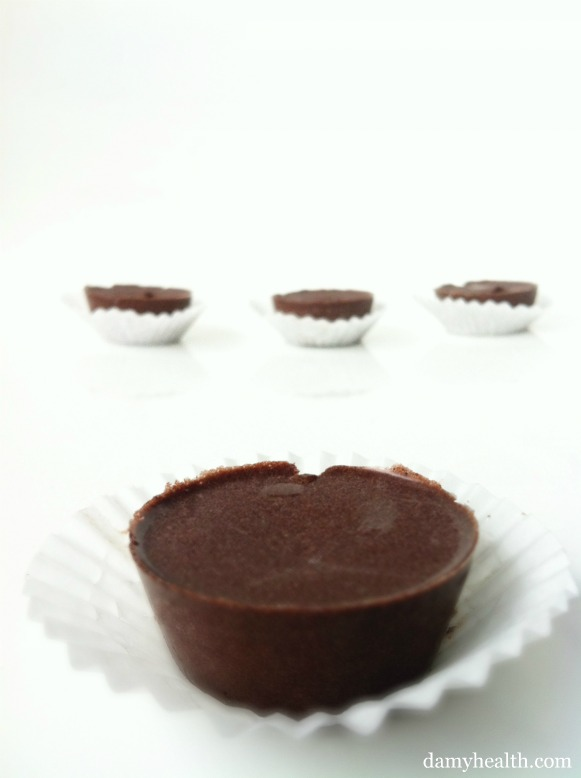 Healthy Coconut Oil Chocolates