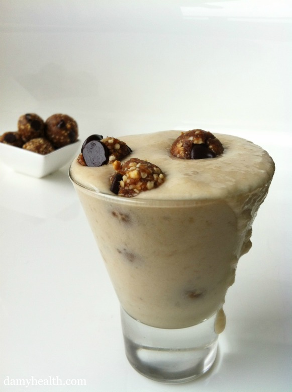 Vegan Cookie Dough Blizzard