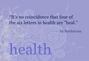 Healing Yourself Thin