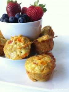 Quinoa Omelet Breakfast Cups