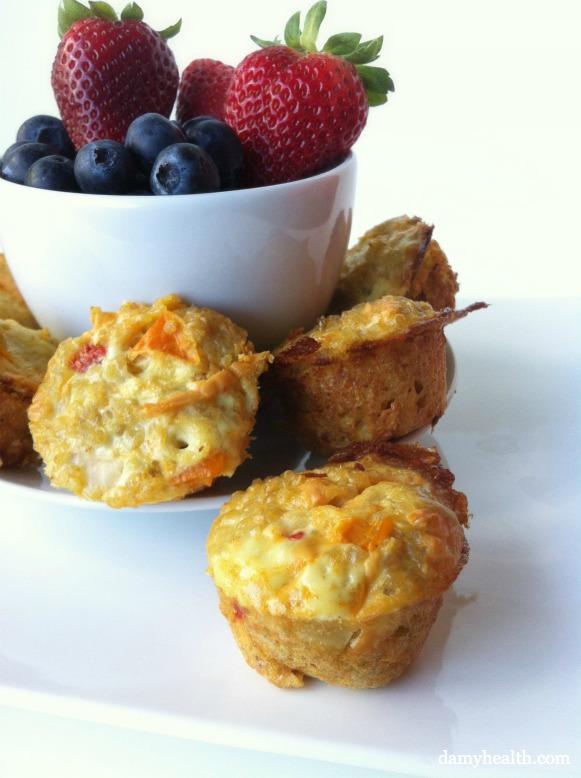 Quinoa Omelette Breakfast Cups