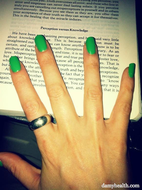 essie nail polish - mojito madness
