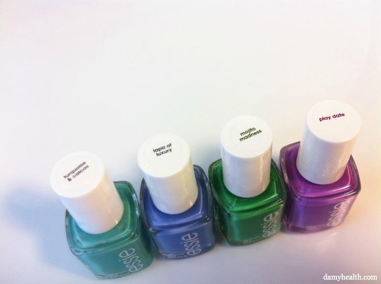 essie nail polish - Summer 2012