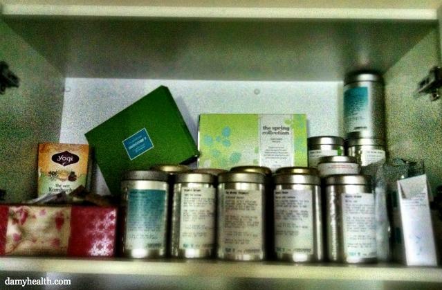 DAMY Tea Cupboard