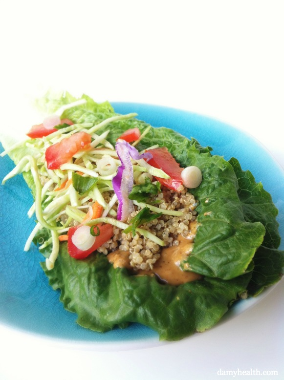 Raw Seed Cheese Wraps