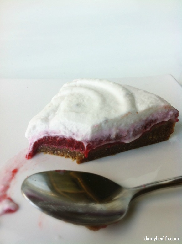 Raw Vegan Raspberry Short Cake
